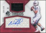 2012 Upper Deck SP Authentic Rookie Threads Autographs #RTNF Nick Foles Autograph /335