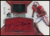 2012 Upper Deck SP Authentic Rookie Threads Autographs #RTNT Nick Toon Autograph /335