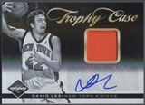 2011/12 Limited #23 David Lee Trophy Case Patch Auto #03/25