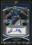2010 Topps Finest Ndamukong Suh Rookie Refractor Auto 3/75 4 color Patch Graded PSA 10!