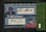 2011 ITG Heroes & Prospects Dual Autographs Mike Trout RC Year Tim Raines silver /9 BGS