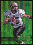 2012 Upper Deck Retro Drew Brees Precious Metal Gem Green Serial 3/10