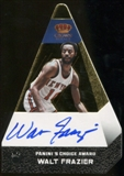2012/13 Panini Preferred Walt Frazier Choice Awards Auto GOLD Parallel Serial# 5/7 Rare