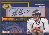 2000 Donruss Preferred #PS9 John Elway Signatures Auto /50