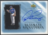 2001 Ultimate Collection #AR Alex Rodriguez Signatures Auto #127/150