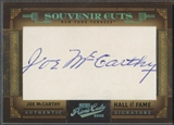2005 Prime Cuts #27 Joe McCarthy Souvenir Cuts Cut Auto #27/44