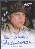 2009 James Bond Archives #JB Joe Don Baker Auto