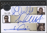 2009 Press Pass Legends #2 Mario Andretti Michael Andretti Marco Andretti Family Auto #19/25