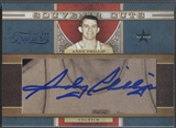 2009/10 Timeless Treasures #9 Andy Phillip Souvenir Cuts Cut Auto #04/15