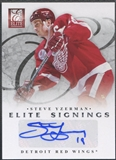 2011/12 Elite #22 Steve Yzerman Elite Signings Auto SP