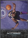 2012/13 Panini Kobe Anthology #20 Kobe Bryant Platinum #8/8