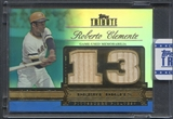2012 Topps Tribute #RCL Roberto Clemente Debut Digit Relics Blue Bat #21/50