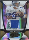 2009 Certified #220 Troy Aikman Mirror Gold Patch Auto #17/25
