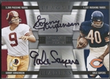 2009 Playoff National Treasures #8 Sonny Jurgensen & Gale Sayers League Leaders Signature Combo Auto #11/15