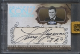 2008 Celebrity Cuts #LH1 Larry Hagman Hollywood Icons Signature Cuts Auto #02/17