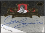 2007 SP Legendary Cuts #JC Joe Cronin Enshrinement Cuts Auto #22/86