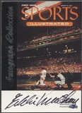 1999 Sports Illustrated #46 Eddie Mathews Greats of the Game Auto