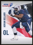 2012 Upper Deck USA Football #1 Adrian Bellard