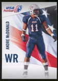 2012 Upper Deck USA Football #3 Andre McDonald