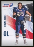 2012 Upper Deck USA Football #4 Boone Feldt