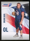 2012 Upper Deck USA Football #6 Brian Gaia