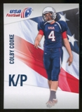 2012 Upper Deck USA Football #11 Colby Cooke