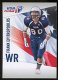 2012 Upper Deck USA Football #17 Frank Epitropoulos