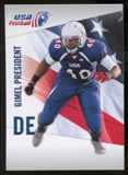 2012 Upper Deck USA Football #19 Gimel President