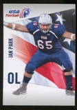 2012 Upper Deck USA Football #22 Ian Park