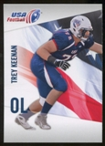 2012 Upper Deck USA Football #48 Trey Keenan