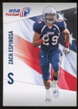 2012 Upper Deck USA Football #49 Zach Espinosa