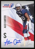 2012 Upper Deck USA Football Autographs #2 Alex Carter Autograph