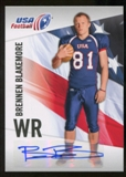 2012 Upper Deck USA Football Autographs #5 Brennen Blakemore Autograph