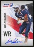 2012 Upper Deck USA Football Autographs #12 Corey Coleman Autograph