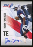 2012 Upper Deck USA Football Autographs #15 Devin Funchess Autograph