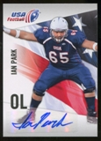 2012 Upper Deck USA Football Autographs #22 Ian Park Autograph