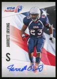 2012 Upper Deck USA Football Autographs #28 Jarrett Irving Autograph