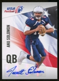 2012 Upper Deck USA Football Autographs #29 Anu Solomon Autograph