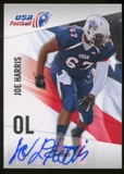 2012 Upper Deck USA Football Autographs #31 Joe Harris Autograph