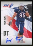 2012 Upper Deck USA Football Autographs #32 Joey Hunt Autograph