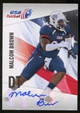 2012 Upper Deck USA Football Autographs #34 Malcom Brown Autograph