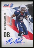 2012 Upper Deck USA Football Autographs #37 Ray Buchanan Jr. Autograph