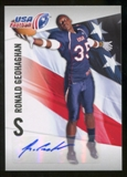 2012 Upper Deck USA Football Autographs #39 Ronald Geohaghan Autograph