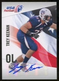 2012 Upper Deck USA Football Autographs #48 Trey Keenan Autograph