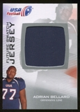 2012 Upper Deck USA Football Future Swatch #FS1 Adrian Bellard