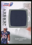 2012 Upper Deck USA Football Future Swatch #FS2 Alex Carter
