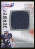 2012 Upper Deck USA Football Future Swatch #FS4 Boone Feldt