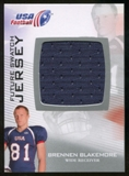 2012 Upper Deck USA Football Future Swatch #FS5 Brennen Blakemore