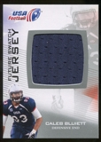 2012 Upper Deck USA Football Future Swatch #FS7 Caleb Bluiett