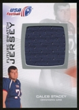 2012 Upper Deck USA Football Future Swatch #FS8 Caleb Stacey